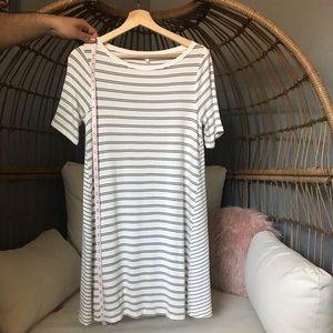 Lou & Grey Dresses - Super Soft Lou and Grey Striped Shift Dress